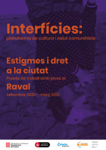 Cartel A4 Interficies proces Raval 20-21