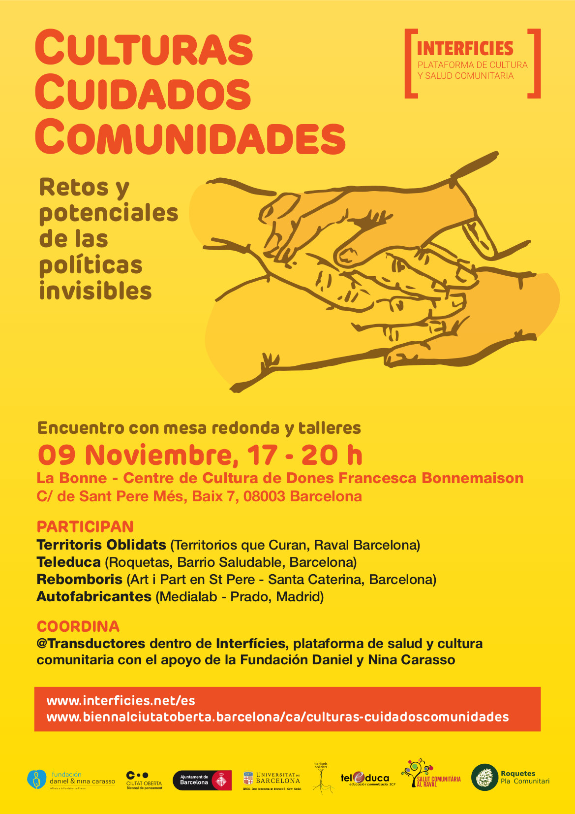 Poster09 NOV_interficies web
