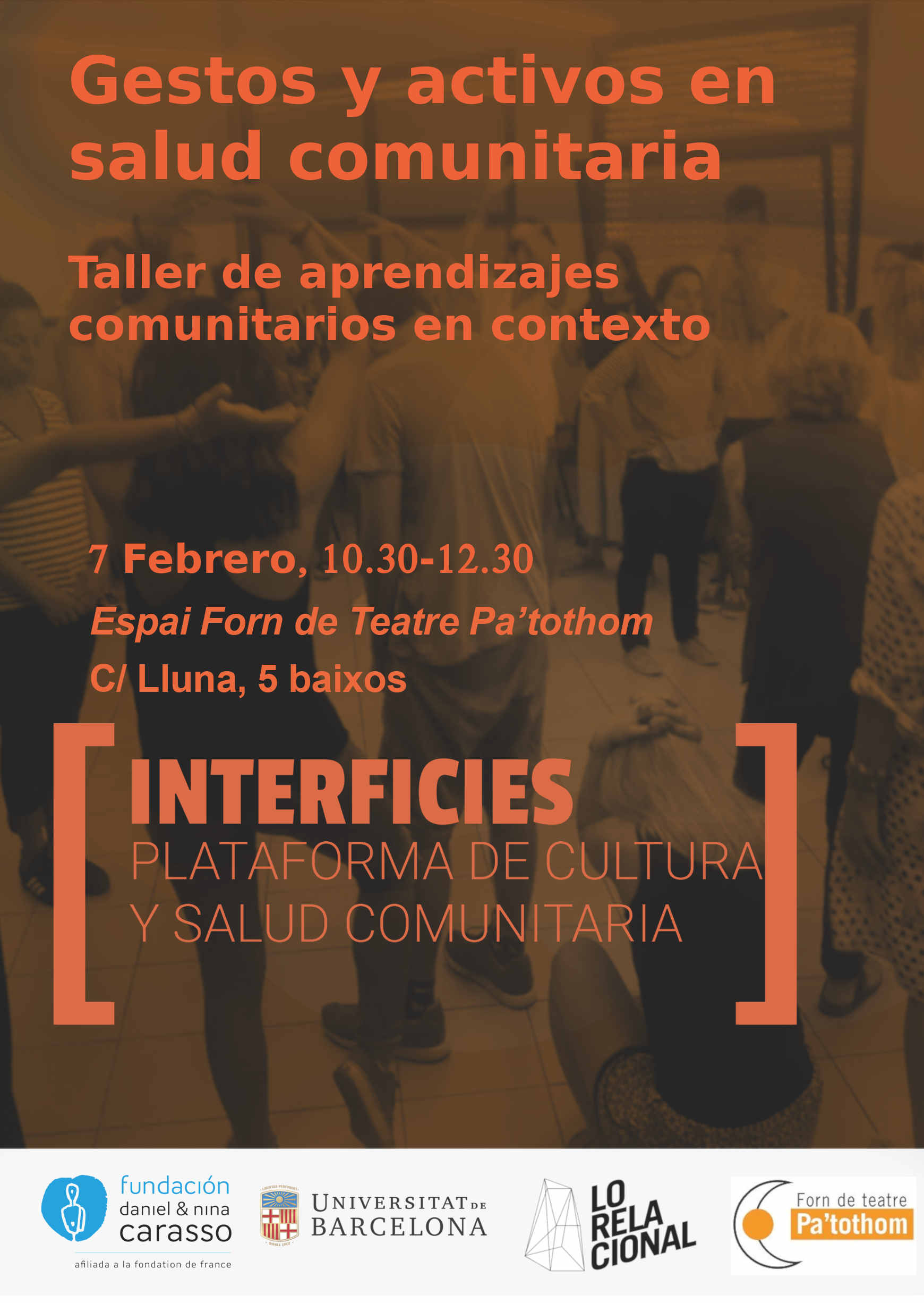 interficies_taller 7 febrero_2019_ gestos saludables